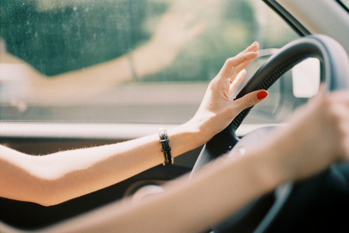 arms, car, drive, girl, nails
