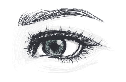 art, artist, drawing, eye, eyes