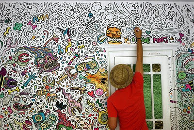 Art Awesome Bedroom Graffiti Painted Image 427237 On