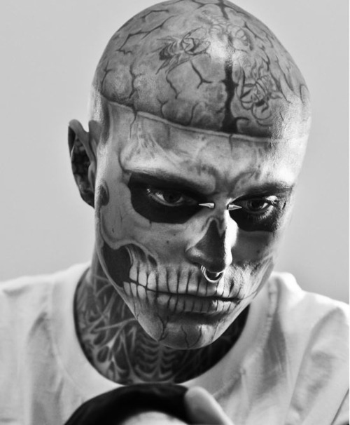 art, beautiful, black, black and white, blonde, blue, boy, couple, cute, dress, fashion, girl, girls, hair, hot, love, model, photo, photography, piercings, pink, pretty, rick genest, sexy, style, tattoos, text, vintage, white, zombie boy