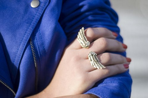 art, beautiful, blue, cute, fashion, girl, photo, photography, pretty, ring, wings