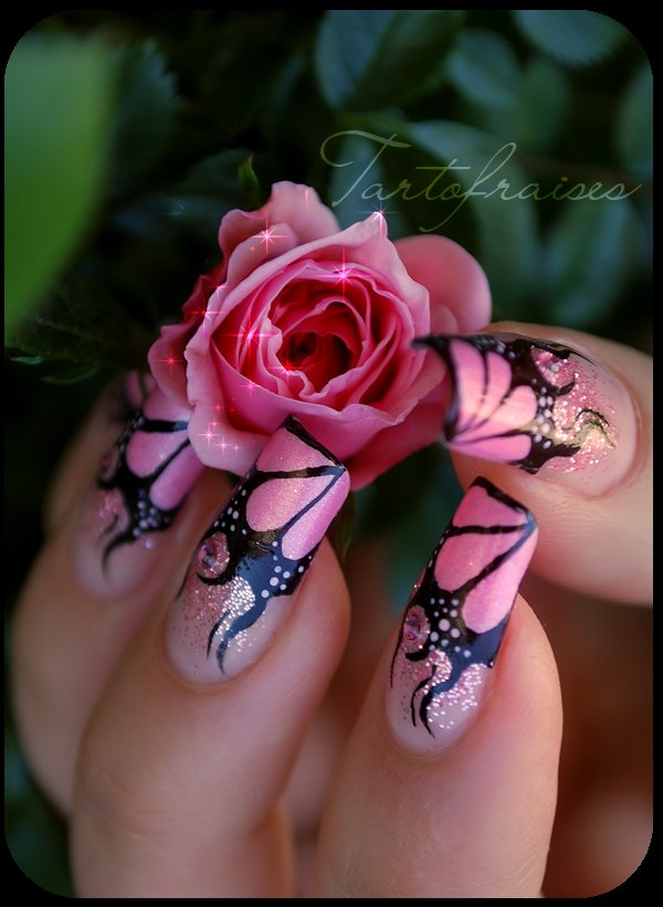art, beautiful, cute, design, dope, flames, flower, glitter, nail art, nail polish, nails, pink, shiny, sparkles
