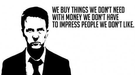 art, black and white, fight club, life, money