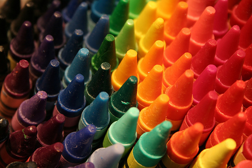 art, childhood, colorful, colors, crayons