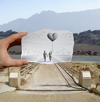 art, couple, heart, love, nature