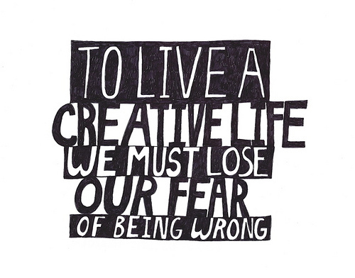 art, fear, life, quote, text