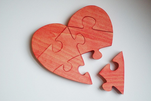 art, heart, love, puzzle, sofis