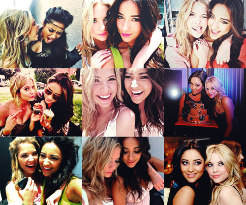 ashely benson, friendship, pll, pretty little liars, shay mitchell
