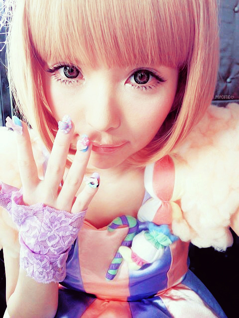 asian, cute, fashion, girl, gyaru, kawaii, nails, sweet, tsubasa masuwaka, ulzzang
