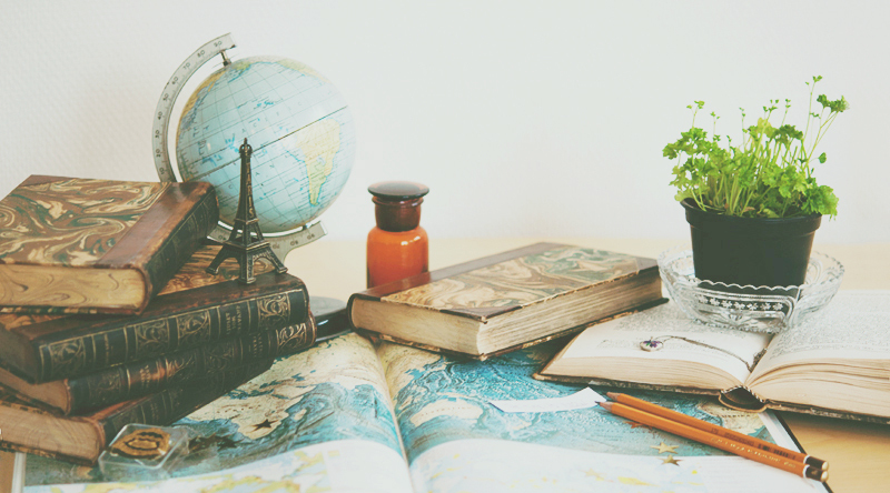 assigment, books, earth, flower, globe