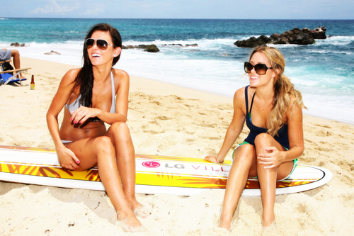 audrina patridge, beach, cali, california, girls, lauren conrad, summer, surfboard, tan, the hills