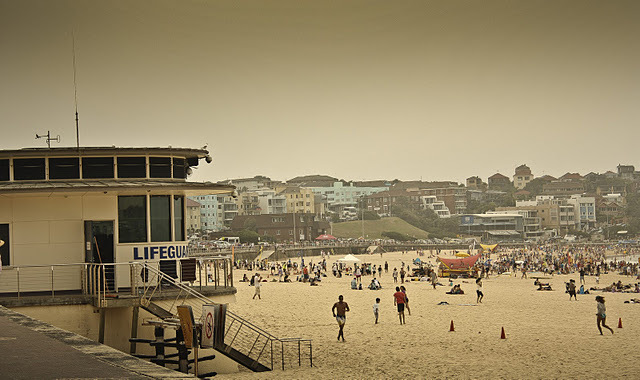 austrailia, beach, bondai, lifeguard, photography