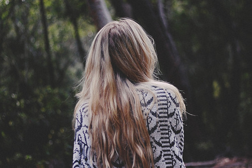 autumn, beautiful, blonde, girl, hair, lonely, pretty, shirt, winter