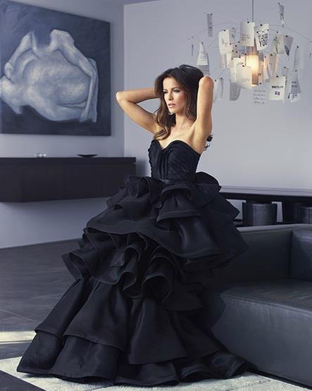 awesome, classy, dress, fashion, girl, glamour, gown, hot, kate beckinsale, pretty, sexy, style