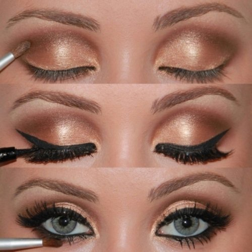 awesome, eyes, girl, make up, perfect