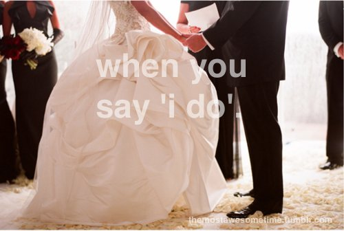 awesome time, couple, dress, hands, i do, love, married, say, weddings