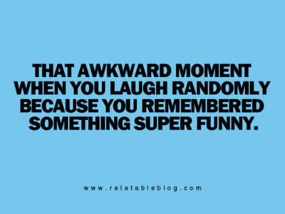 awkward moment, laughing, text
