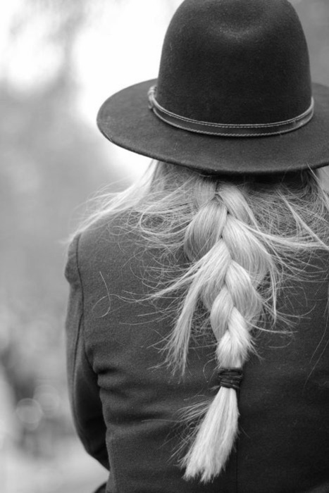 b & w, b&w, beautiful, black and white, blonde, female, girl, hair, hat, long, long hair, photo, photograph, photography, picture, woman