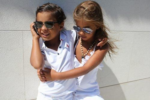 baby, blonde, boy, child, cute, dress, girl, hair, kid, pink, sunglasses, swag, white