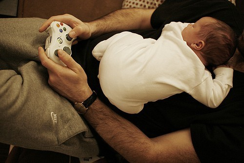 baby, cute, little, xbox