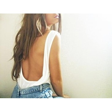 back, girl, hair, sexy, sun, white
