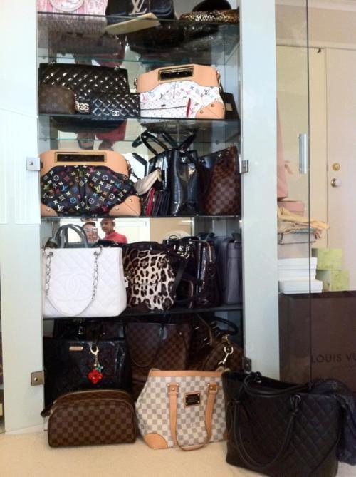bag, bags, chanel, closet, cute