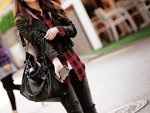 bag, beautiful, black, clothes, dark