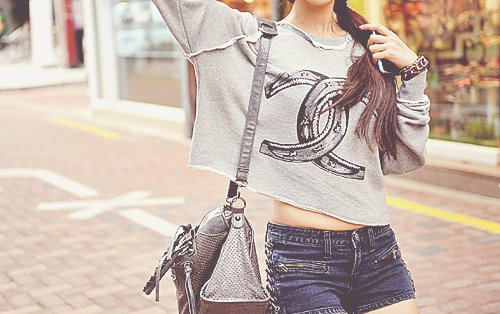 bag, beautiful, bracelet, clothes, cute, fashion, girl, hair, jeans, jewelry, lady, love, outfit, pretty, shorts, style