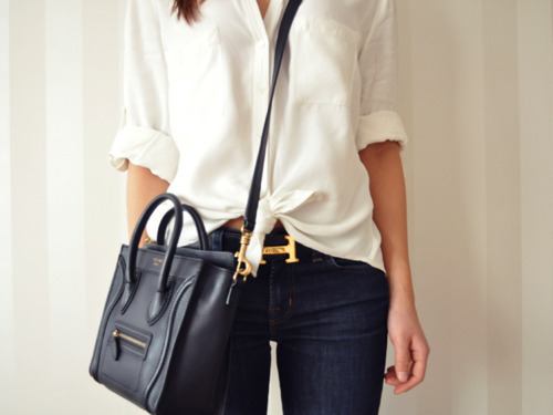 bag, belt, clothes, fashion, jeans, outfit