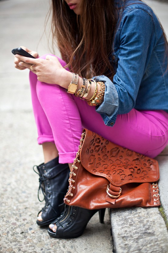 bag, bracelets, details, fashion, heels