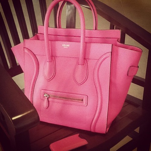 bag, celine, celine bag, fashion, pink