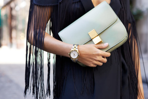bag, celine, details, fashion, jewelry, street fashion, street style, style, watches
