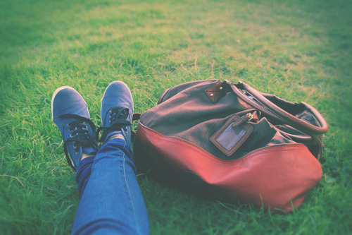 bag, fashion, grass, green, handbag