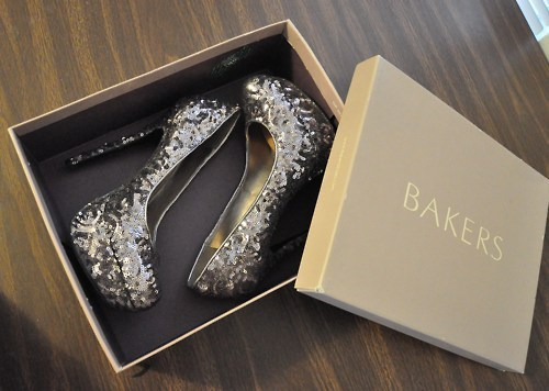 bakers, barbie, glitter, heels, high heels
