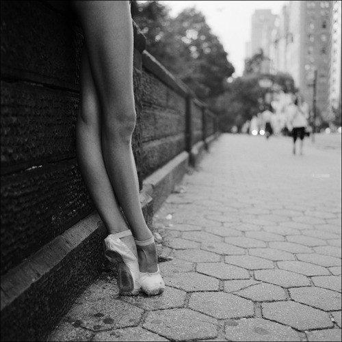 ballerina, ballet, beautiful, black and white, shoes, streets