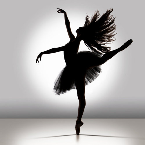 Ballerina black and white dance dancer girl pretty studio