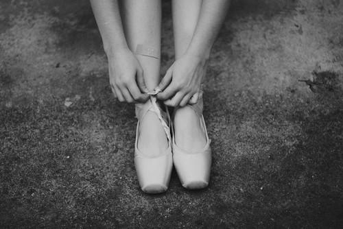 ballet, black and white, cute, dance, photography, pointe
