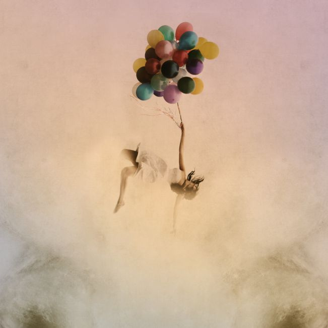 balloons, photography, pretty