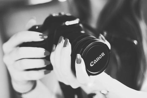 b&w, black and white, camera, canon, fingers