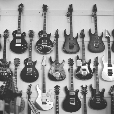 b&w, black and white, guitars, rock, rock n roll