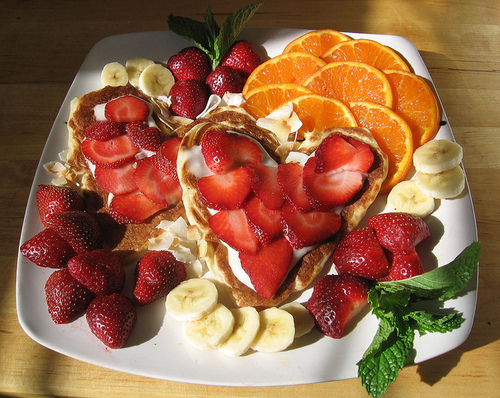banana, bananas, breakfast, cream, fruit