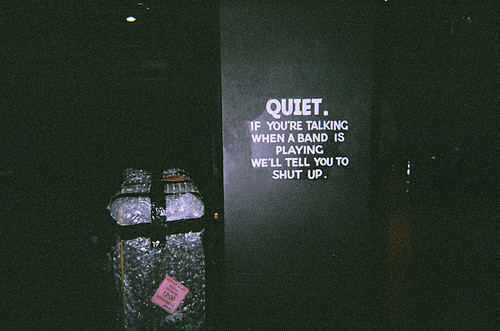 band, concert, cute, gig, grain, hipster, indie, live, music, quiet, shut up