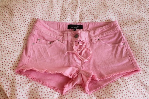 barbie, clothes, pink, shorts