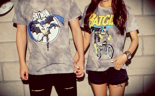 batman, boy, girl, love