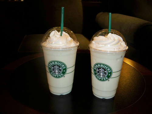 baunilha, candy, coffee, cream, frappucino