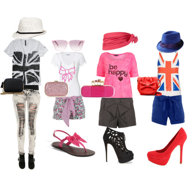 be happy, black, blue, england flag, fashion