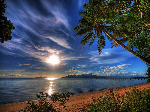 beach, beachscape, beautiful, hdr, landscape, luxury, nature, ocean, paradise, sea, summer, sun, trees