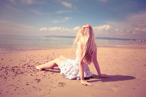 beach, beautiful, blonde, cool, cute