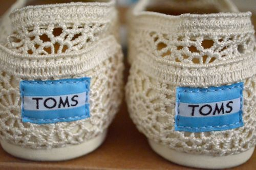beach, beautiful, crocheted, cute, fashion, fwhi, gorgeous, lace, love, need, pretty, shoes, summer, toms, vintage, want
