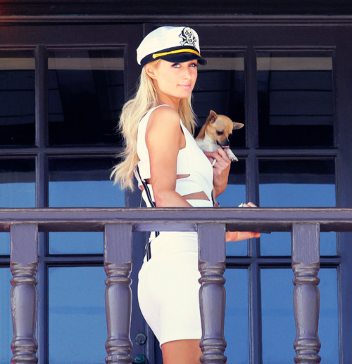 beach, beauty, cute, paris hilton, puppy